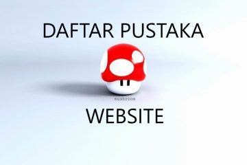 daftar pustaka website